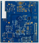 High Frequency PCB Fr4 Prototype Pcb Fabrication  with Blue solder mask For OEM Electronics