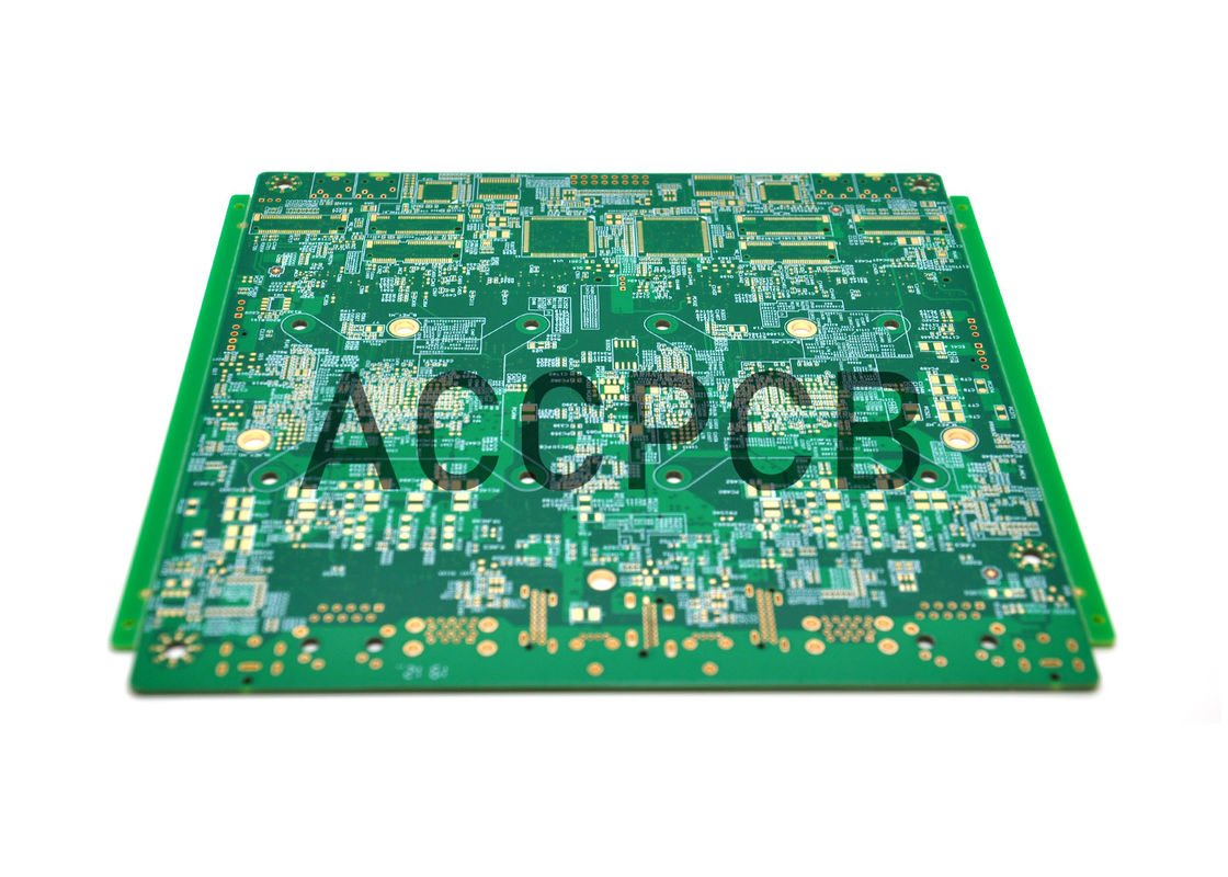 Multilayer HDI PCB Board Prototype Fabrication 1.2 MM Thickness  with Immersion Gold surface