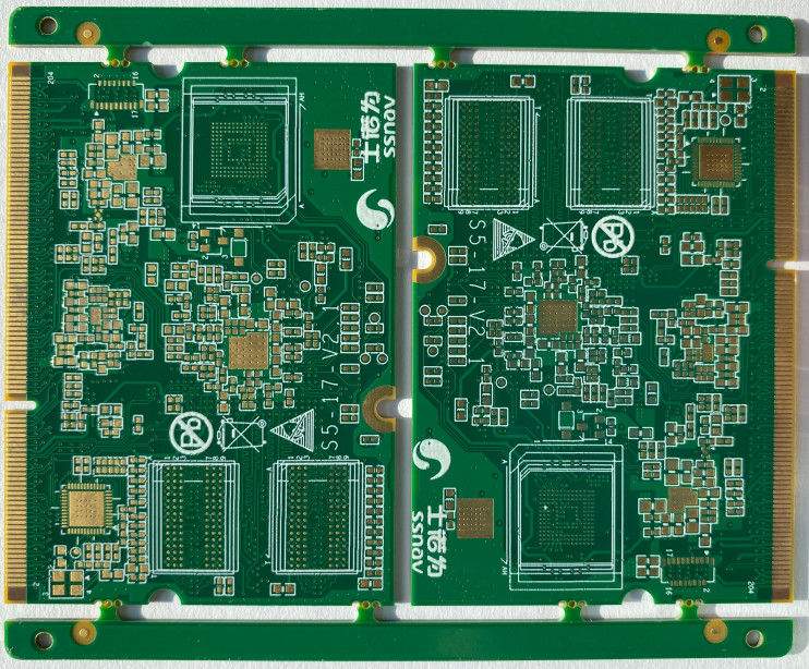 1.60mm 120mmx100mm Lead Free PCB AOI Inspection 1Oz Copper For 12v Power Supply